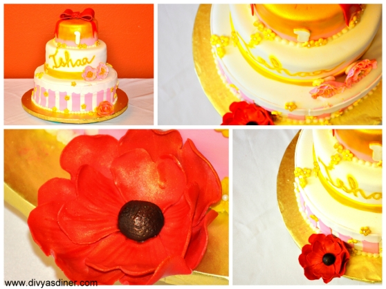 gold cake collage1